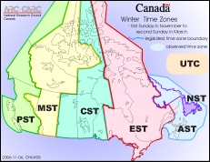 graphic about Printable Time Zone Map identify Canada year Zone map printable metropolitan areas